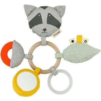 Anneau hochet d'activités raton laveur Mr. Raccoon  par Trixie
