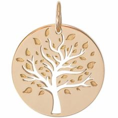 Médaille de naissance Lucas personnalisable 18 mm (or jaune 750°)