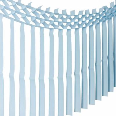 Guirlande frange bleu ciel  par Arty Fêtes Factory