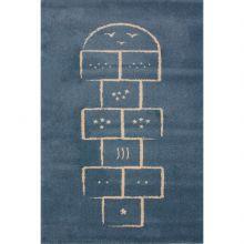 Tapis Marelle bleu (135 x 190 cm)  par Art for Kids