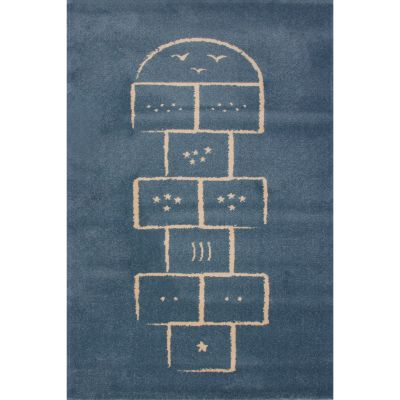 Tapis Marelle bleu (135 x 190 cm)  par Art for Kids