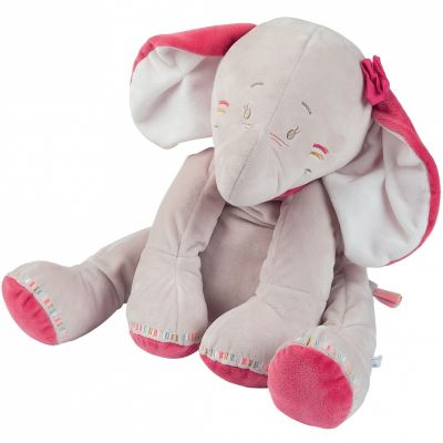 Peluche Anna l'éléphante (40 cm) Noukie's