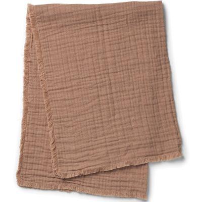 Couverture en coton froissé Faded Rose (70 x 100 cm)  par Elodie Details
