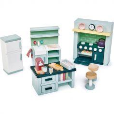 Mobilier pour poupée Cuisine en bois