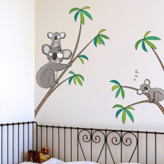 Sticker les koalas