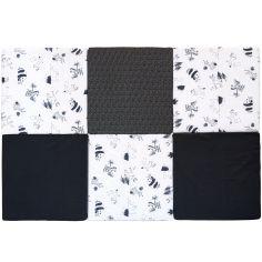 Tapis de jeu pliable XL multifonctions Black & white experience