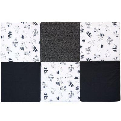 Tapis de jeu pliable XL multifonctions Black & white experience  par Candide