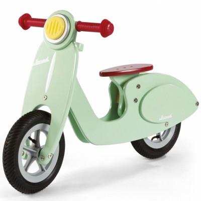 Draisienne scooter vert d'eau Janod