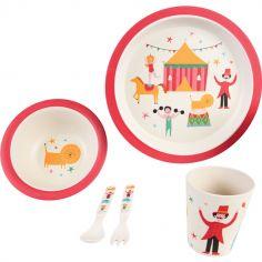 Assiette Personnalisé Enfant Bébé Incassable Chat Mignon Prenom Au Choix Réf 14 Cups, Dishes & Utensils