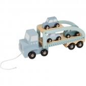 Camion en bois Mixed stars mint (41 x 17 cm) - Little Dutch