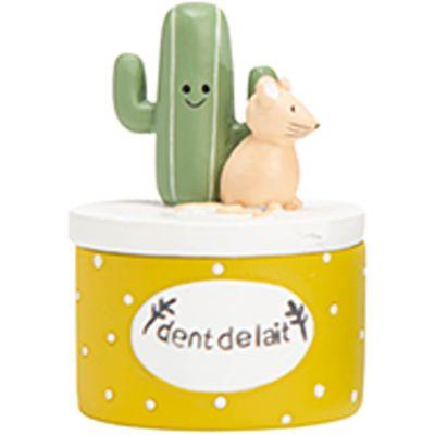 Boîte à dents Herley l'aventurier jaune  par Amadeus Les Petits