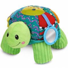 Peluche d'activités Cache-cache tortue 2 en 1
