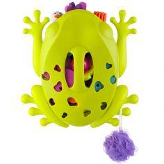 Egouttoir de rangement jouets de bain grenouille Frog-pod