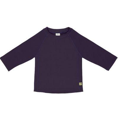 Tee-shirt anti-UV manches longues prune (6 mois)