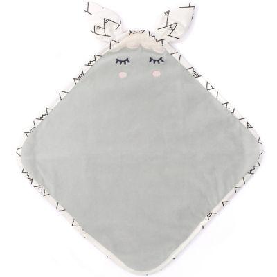 Doudou plat gris Lamamour  par Nougatine