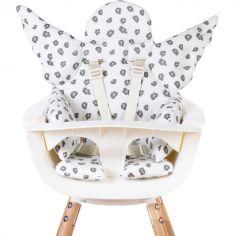 Coussin de chaise haute Ange Jersey léopard