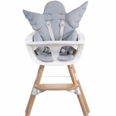 Coussin de chaise haute Ange gris