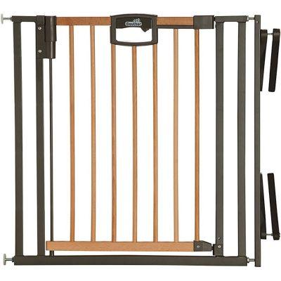Barrière Easy Lock Wood Plus avec adaptateur escalier (84 à 92 cm) Geuther