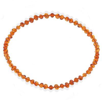 Collier en ambre bébé perles baroques (32 cm)  par Balticambre