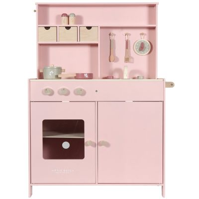 Grande cuisine en bois pink  par Little Dutch