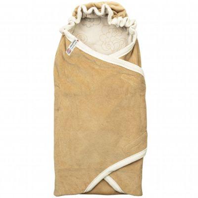 Couverture d'emmaillotage Empire Honey marron Tog 1,2 (110 x 110 cm)  par Lodger