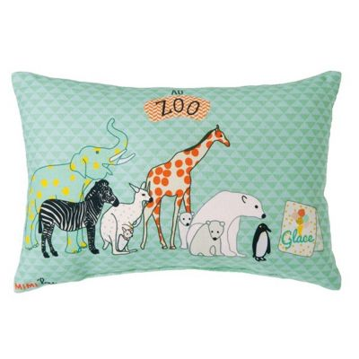 petit coussin zoo 20 x 30 cm par mimi 39 lou. Black Bedroom Furniture Sets. Home Design Ideas
