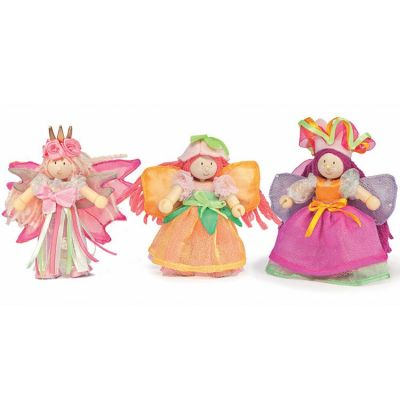 Lot de 3 figurines fées du jardin (9 cm)  par Le Toy Van
