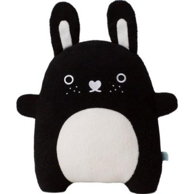 Peluche lapin Riceberry noir et blanc grand modèle (36 cm)  Noodoll
