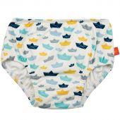 Maillot de bain couche lavable Splash & Fun bateau en papier (24 mois) - Lässig