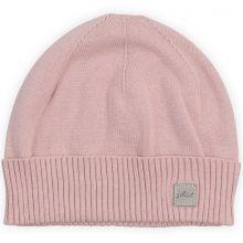 Bonnet de naissance Pretty knit rose  par Jollein