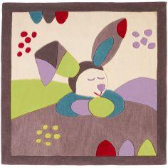 Tapis carré Tinoo (110 x 110 cm)