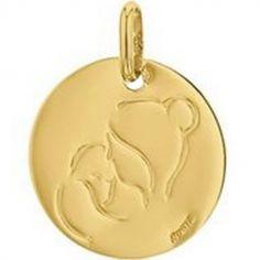 Médaille Maternité personnalisable (or jaune 750°)