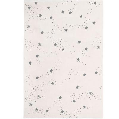 Tapis Constellation d'étoiles grises (120 x 170 cm)  par Art for Kids