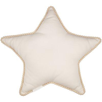 Coussin étoile vanille Boho (44 cm)  par Cotton&Sweets