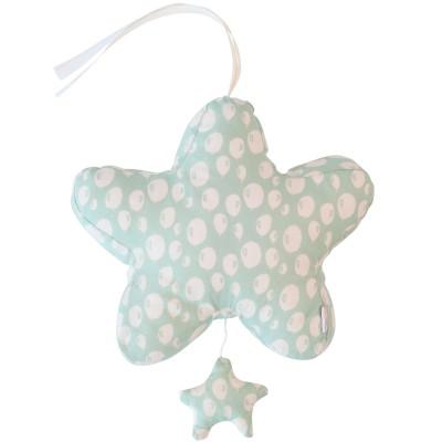 Coussin étoile musical Balloon Turquoise (23 x 27 cm) Trixie
