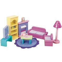 Salon Sugar Plum pour maison de poupée