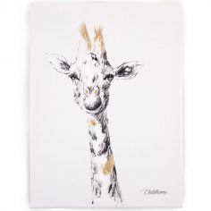 Tableau girafe (30 x 40 cm)
