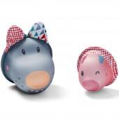Jouet de bain Nicolas et le petit cochon  - Lilliputiens
