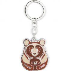 Porte clés Papa chéri d'amour