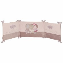 tour de lit kali nina et kenza pour lits 60x120 et. Black Bedroom Furniture Sets. Home Design Ideas