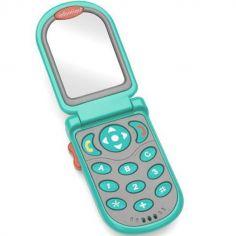 Téléphone bébé à clapet électronique