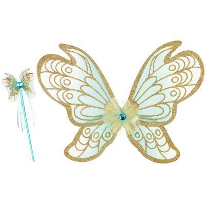 Baguette magique + ailes de fée Jeanne  par Souza For Kids