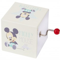 Cube manivelle musical Mickey