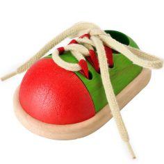 Chaussure à lacets