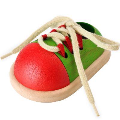 Chaussure à lacets  par Plan Toys