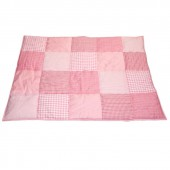 Tapis de jeu Patchwork rose (100 x 80 cm) - Taftan