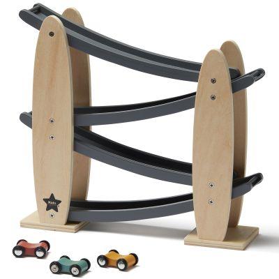 Rampe pour voitures grise Aiden  par Kid's Concept