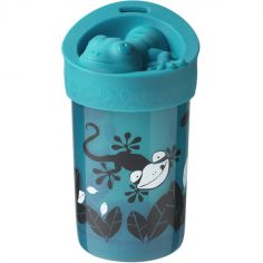Tasse anti-renversement Super Cup bleue (300 ml)