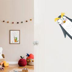 Sticker de porte pingouin (côté droit)