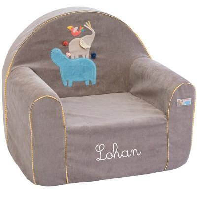 fauteuil club les papoum personnalisable par moulin roty. Black Bedroom Furniture Sets. Home Design Ideas